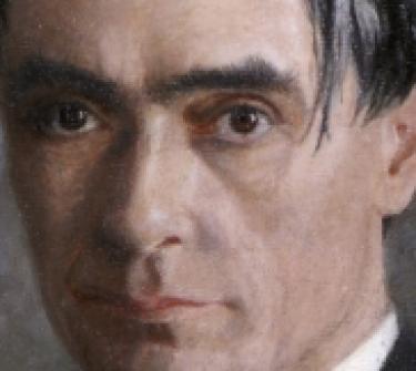 D.Huschke - Ritratto di Rudolf Steiner